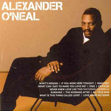 ICON BY O'NEAL,ALEXANDER (CD)